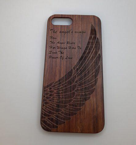 قاب چوبی آیفون