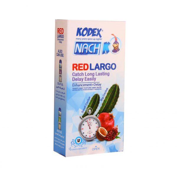 کاندوم تاخیری کدکس مدل Red Largo
